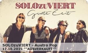 SOLOzuVIERT Austro Pop  2015