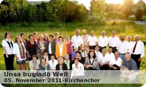 """Kirchenchor """"Unsa bugladö Welt"""""""