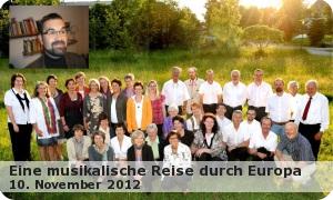 """eine Musikalische Reise durch Europa """"Kirchenchor Oberneukirchen"""""""