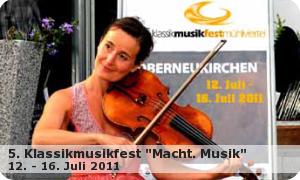 "5. Klassikmusikfest ""Macht Musik"""