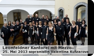 """Leonfeldner Kantorei mit Valentina Kutzarova """"Stimmen der Natur"""""""