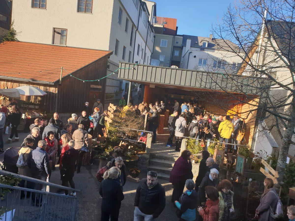 """Brauchtumsmarkt """"Lebensgemeinschaft Wald""""   23. und 24. November 2019"""