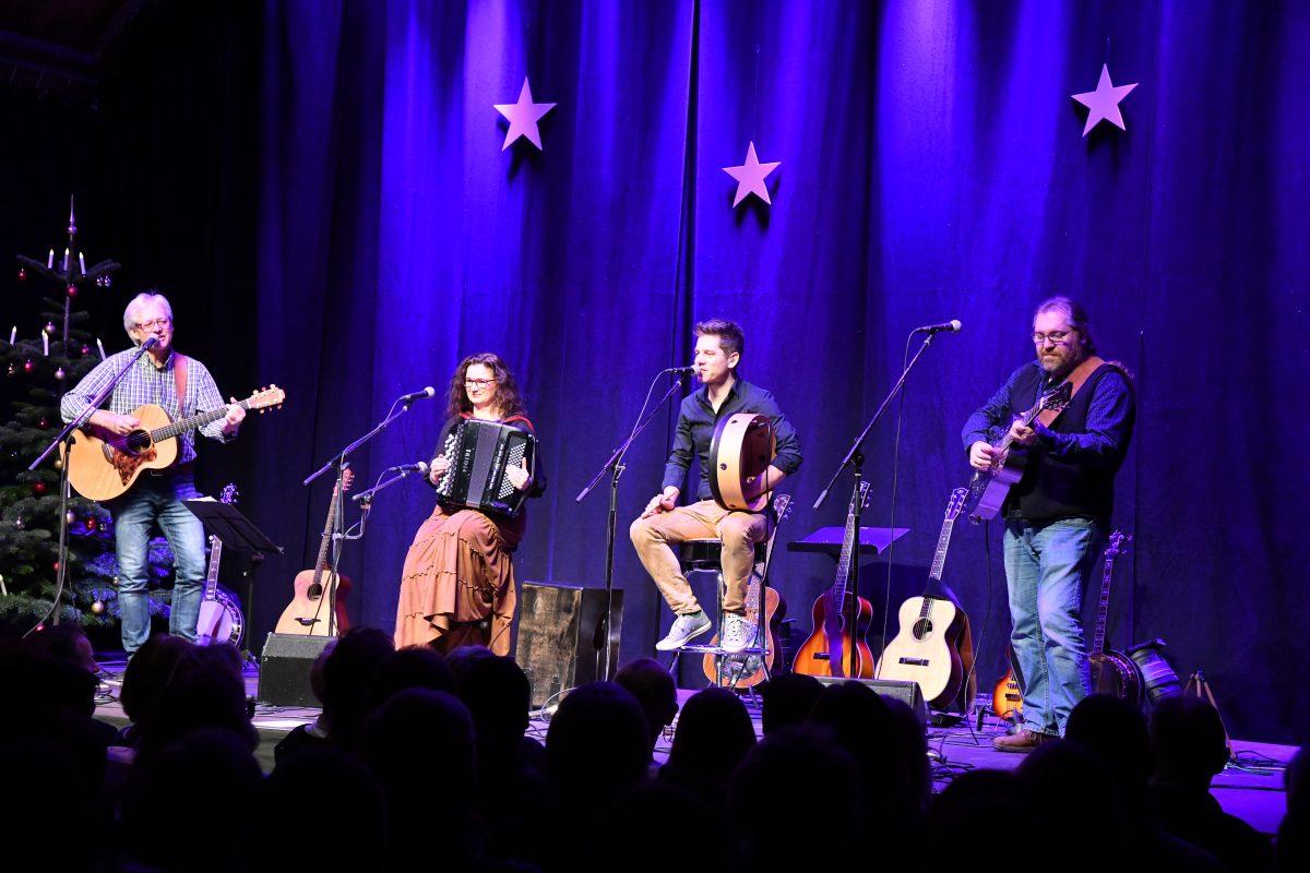 "Medley Folkband ""Irish Christmas"" Sa. 7.12.2019"